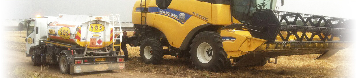Agriculture machinery refueling