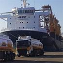 التزود بالوقود من السفن التجارية